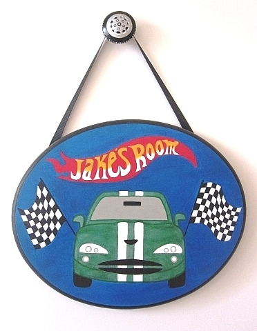 Hot Wheels Plaque-