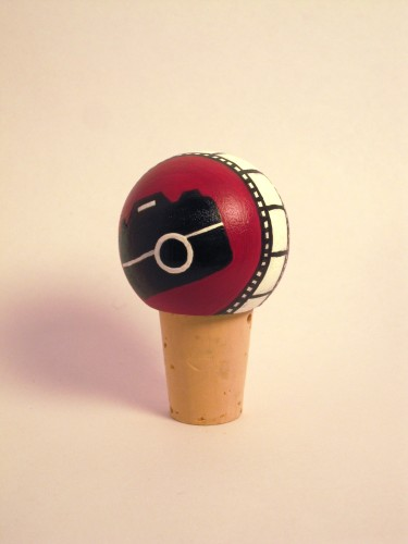 Photography Wine Bottle Topper-