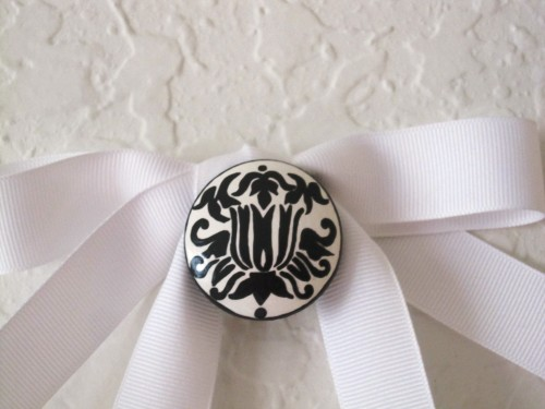 Damask Monogram Plaque-Damask, Monogram, Hand Painted, Hand Painted Plaque, Damask Plaque,