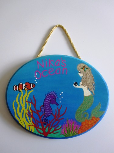 Under The Sea Plaque-