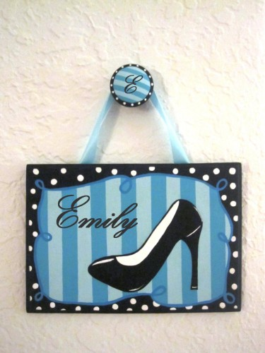 Shoe Plaque-Shoe lover's plaque