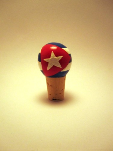 Flag Wine Bottle Topper-