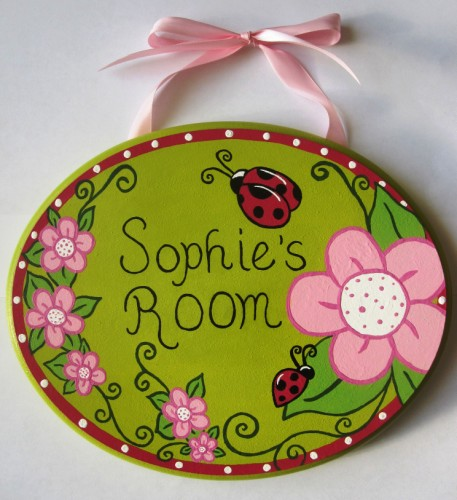 Lady Bug Plaque-