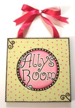 Ally's Plaque-
