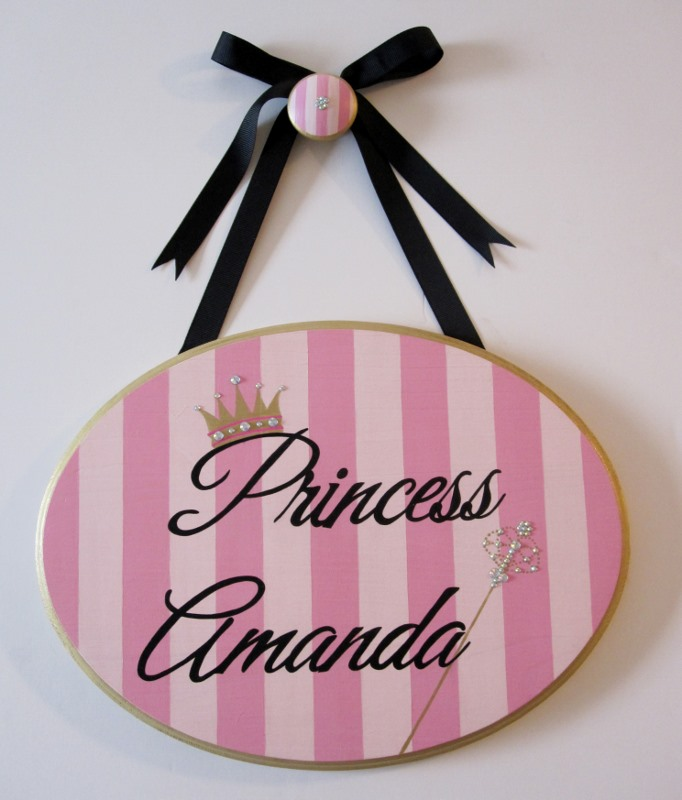 Princess Plaque-