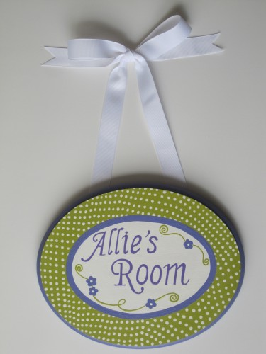 Allie's Plaque-