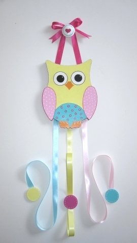 Owl Hair Bow Holder-Dena Happi Tree Owl Hair Bow Holder